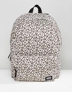 Рюкзак с леопардовым принтом Vans Realm - Фиолетовый