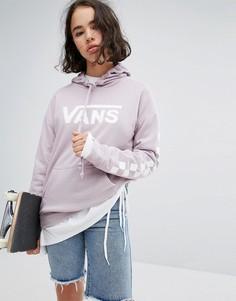 Сиреневое худи Vans - Фиолетовый
