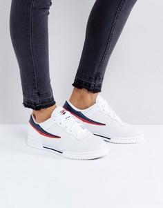 Белые кроссовки с перфорацией Fila Original Fitness - Белый