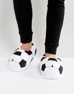 Черно-белые слиперы в футбольном стиле ASOS - Мульти