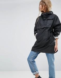 Непромокаемый анорак Rains - Черный