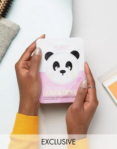 Листовые маски для лица в виде животных - панда - Бесцветный Beauty Extras