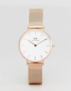Золотисто-розовые часы с браслетом Daniel Wellington DW00100162 - Золотой