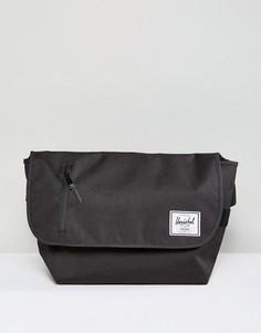 Черная сумка почтальона Herschel Supply Co. Odell - Черный
