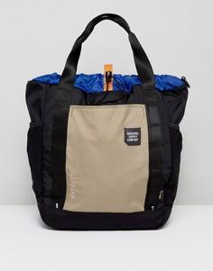 Черная сумка-тоут объемом 30 литров Herschel Supply Co. Barnes - Черный
