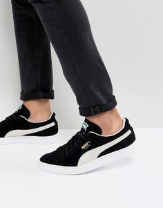 Замшевые классические кроссовки Puma 35263403 - Черный