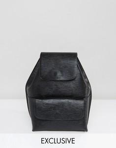Структурированный мини-рюкзак Street Level - Черный