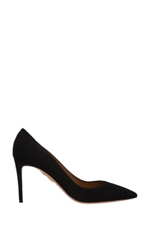 Замшевые туфли Simple Irresistible Pump 85 Aquazzura