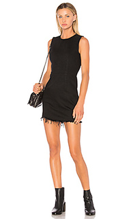 Платье с застёжкой на молнию - DENIM x ALEXANDER WANG