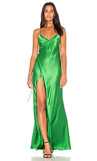 Вечернее платье с запахом - Michelle Mason