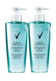 Набор Vichy PURETE THERMALE Очищающий освежающий гель