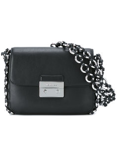сумка на плечо с плетеной окантовкой  Michael Michael Kors