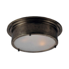 "Светильник ""Industrial Round Flush Mount"" Gramercy"