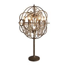 """Лампа настольная """"IRON ORB TABLE LAMP"""" Gramercy"""