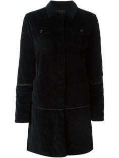 бархатное пальто Helmut Lang Vintage