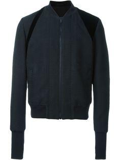 фактурная куртка бомбер Alexander McQueen