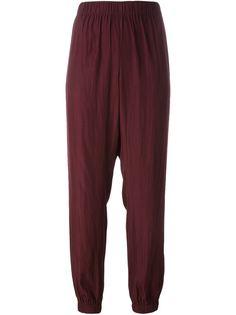 брюки с заниженным шаговым швом Lanvin
