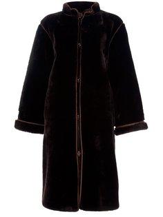 меховое пальто  Yves Saint Laurent Vintage