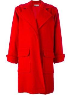 пальто без застежки Yves Saint Laurent Vintage