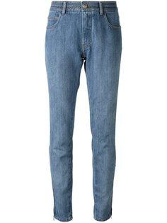 джинсы кроя слим Chanel Vintage