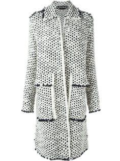 объемное пальто Rochas