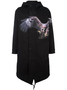 платье с принтом орла  Neil Barrett