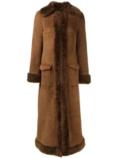 пальто-дубленка  Saint Laurent