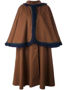 пальто с рукавами-кап Yves Saint Laurent Vintage