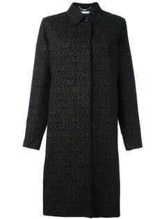 пальто с принтом логотипом  Givenchy