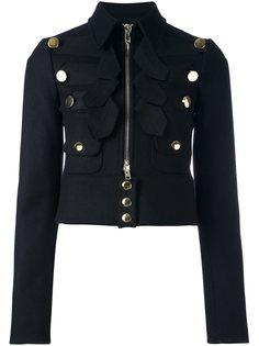 укороченный жакет в военном стиле Givenchy