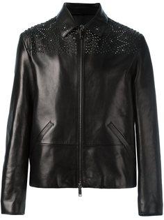куртка с заклепками Valentino