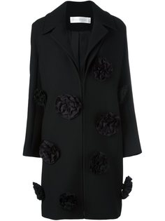 пальто с цветочной аппликацией Victoria Victoria Beckham