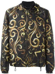 куртка с капюшоном Baroque Versace