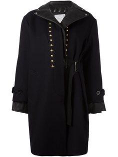 пальто с заклепками Sacai