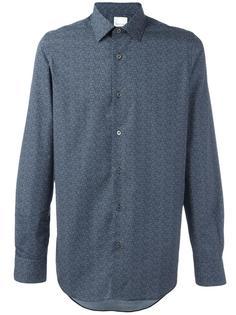 рубашка на пуговицах с мелким узором Paul Smith