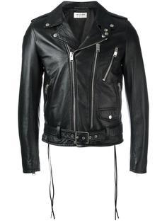 байкерская куртка Blood Luster Saint Laurent