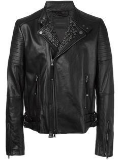 куртка с заклепками Diesel Black Gold
