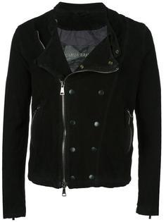 двубортная байкерская куртка Giorgio Brato