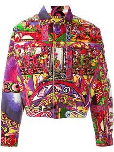 куртка с рисунком Gianna Versace Versace Vintage