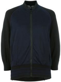 куртка бомбер с рукавами реглан Sacai