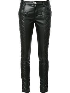 стеганые брюки скинни Giamba