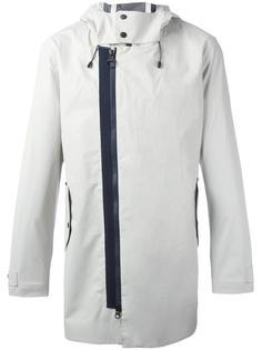 куртка с капюшоном и смещенной молнией Z Zegna