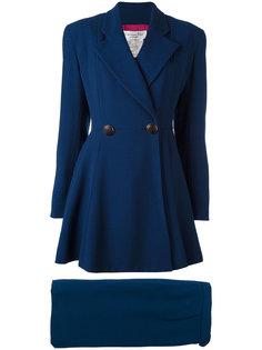 приталенный костюм с юбкой Christian Dior Vintage
