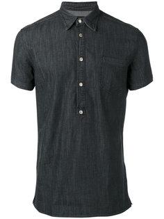 джинсовая рубашка-поло Hydrogen