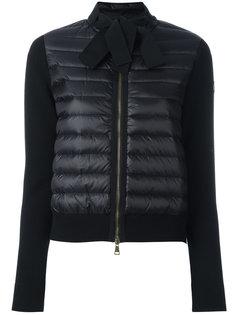 куртка-пуховик на завязках Moncler