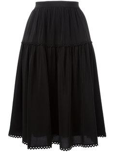 юбка А-образного силуэта Kenzo