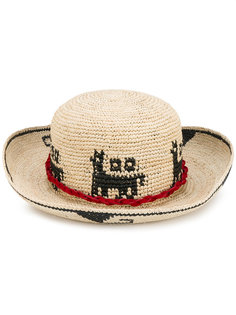 шляпа Lamina Aequatoria Ibo Maraca