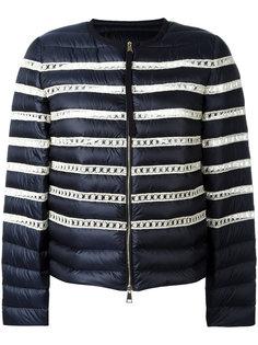 куртка-пуховик в полоску Moncler
