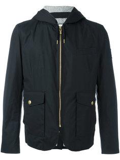 стеганая куртка-пуховик с капюшоном Moncler Gamme Bleu