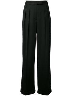 двухцветные брюки DKNY